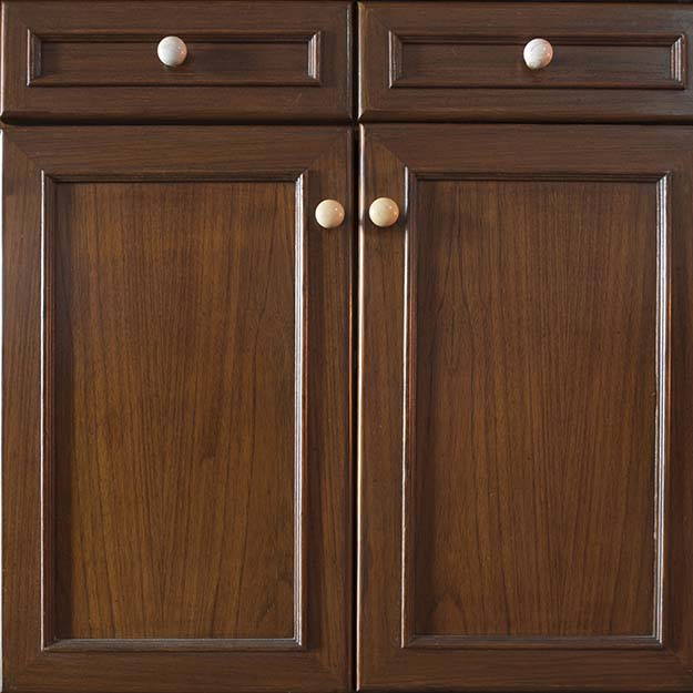 wood cabinet face and doors